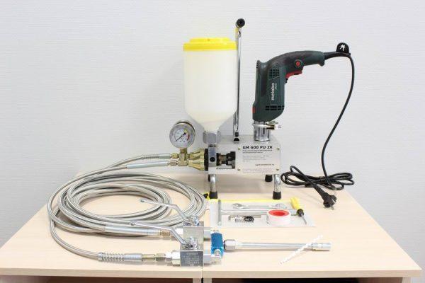 Фото двухкомпонентный инъекционный насос GM 600 PU 2K (М)