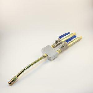 Фото кран удочка для двухкомпонентного инъекционного насоса